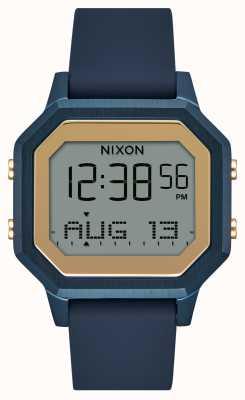 Nixon Siren SS海军硅胶表带手表 A1211-1859