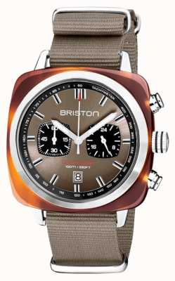 Briston | clubmaster运动|醋酸盐|灰褐色| 20142.SA.TS.30.NT