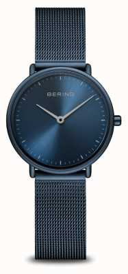 Bering 经典超薄蓝色单色手表 15729-397