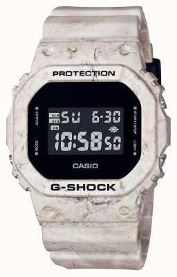 Casio G-shock |实用波浪形大理石|数字显示 DW-5600WM-5ER