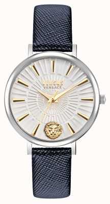 Versus Versace Versus 女士 mar vista 皮革表带手表 VSP1F0121