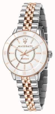 Maserati 女士后继太阳能双音手表 R8853145504