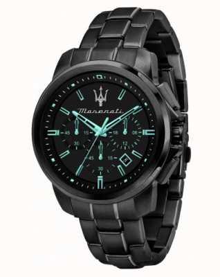 Maserati Successo Aqua Edition 镀黑腕表 R8873644003