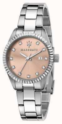 Maserati Woman's competizione 粉红色水晶表盘 R8853100509