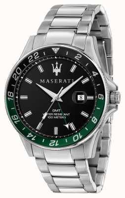 Maserati Sfida gents 双色黑/绿表圈 R8853140005