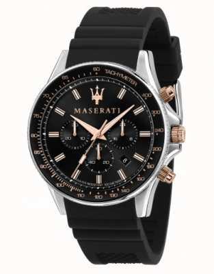 Maserati Sfida 男士硅胶表带手表 R8871640002