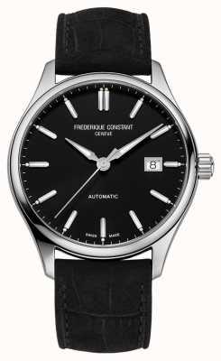 Frederique Constant 经典索引 40 毫米黑色皮革表带 FC-303NB5B6