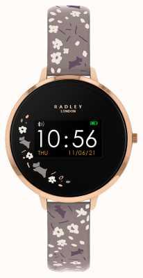 Radley 智能手表系列 3 灰色花卉表带 RYS03-2016