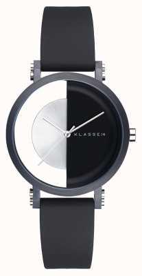 Klasse14 我是拱形黑色 32mm 黑色硅胶表带 IM18BK007W