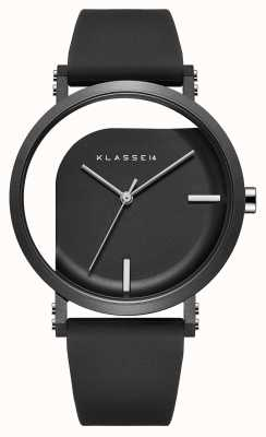 Klasse14 不完美角度40mm黑色硅胶表带 WIM19BK011M