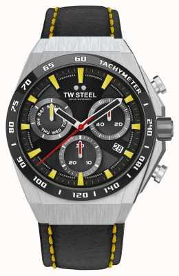TW Steel Fast Lane ceo tech 限量版手表黄色细节 CE4071