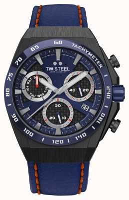 TW Steel Fast Lane ceo tech 限量版手表红色细节 CE4072