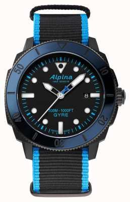 Alpina Seastrong diver gyre 自动限量版 AL-525LBN4VG6