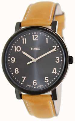 Timex Ez阅读器棕褐色表带经典手表 T2N677